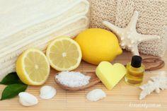 скраб для тіла з лимоном