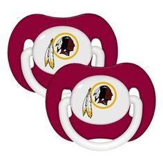 Washington Redskins 2pk Baby Pacifier