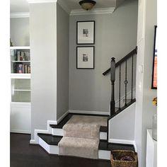 Hallway Paint Colors sherwin williams essential gray). | bedroom ideas | pinterest