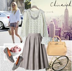 """iv) chicwish"" by silda ❤ liked on Polyvore"