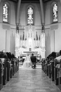 Traditional Catholic Wedding in Westchester  [© Rachael Wright]