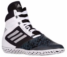 7baa29d79 Adidas Impact Wrestling Shoes - Black Silver White