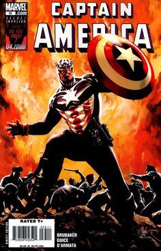 Captain America Vol. 5 # 35 by Steve Epting