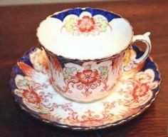 Aynsley, John Portland Flat Cup & Saucer Set