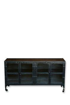 Industrial Plasma Stand by Modern Vintage Style Furniture on @HauteLook