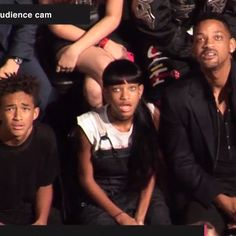 LOL! The Smith Family Jaw-Dropping Expressions — Watching Nasty Miley Cyrus......read comment......