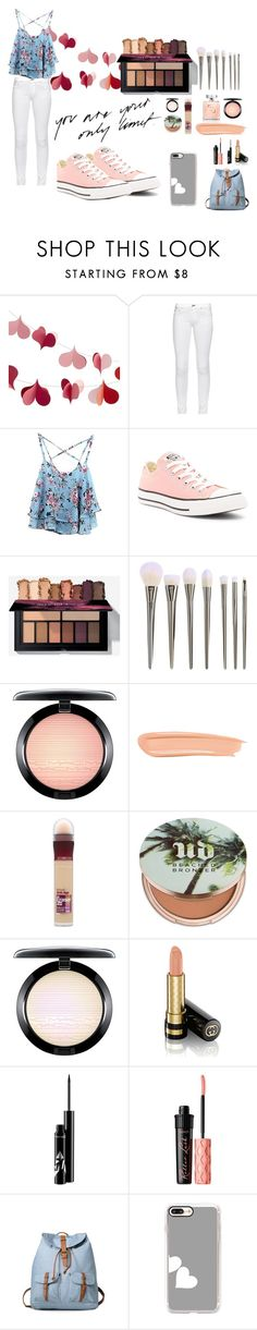 """""""034"""" by californi-98 ❤ liked on Polyvore featuring Crate and Barrel, rag & bone, WithChic, Converse, MAC Cosmetics, By Terry, Maybelline, Urban Decay, Gucci and Benefit"""