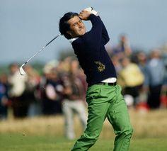 Severiano Ballesteros was Spain's greatest golfer. #golf #inspiration  Juega al golf y saca partido a nuestra tarjeta para socios. Hazte socio del Club GREEN g www.gambitogolf.com/green-g