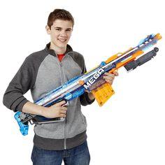 Outdoor Toys Nerf N Strike Elite Mega Centurion Garden Kids Fun Shooter Gun