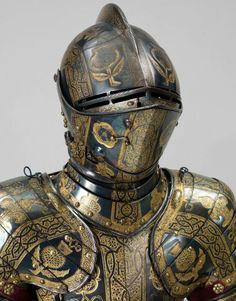 Museum of artifacts  Armour of Henry, Prince of Wales for the field, tourney, tilt and barriers. England, 1608