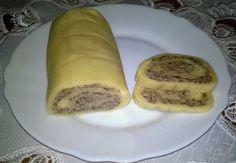 Mydło i powidło.: Rolada z żółtego sera z pieczarkami