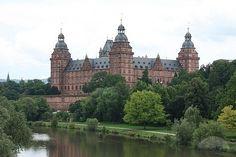 Schloss Johannisburg - Aschaffenburg, Germany, awwww - I'm homesick