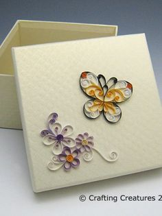 Butterfly Quilling Pattern / Tutorial   Meylah
