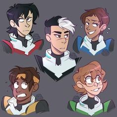 """tinymintywolf: """" working on a voltron print, but i wanted to doodle them first to get the hang of drawing them :DD (please dont repost/edit, thanks! Form Voltron, Voltron Ships, Voltron Klance, Voltron Memes, Voltron Paladins, Shiro Voltron, Samurai, Voltron Fanart, Arte Sketchbook"""