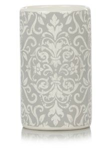 George Home Damask Tumbler Grey Bathroom Accessory Sets At Asda Plans