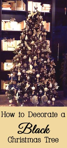 If you desire to have a modern looking Christmas tree, consider using a black Christmas tree.  A black Christmas can be very modern and trendy.  Here are the steps for how to decorate a black Christmas tree.   LightsMake sure to...