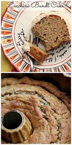 Zucchini Cream Cheese Pound Cake