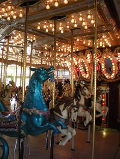 The Roger Williams Park Carousel in R.I.