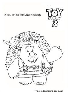 Pages Slinky Dog Cartoons Toy Story Free Printable Coloring Page Dot