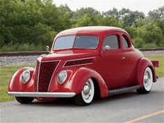 Nice 1937 Ford coupe hot rod pictures - Hot Rod Cars