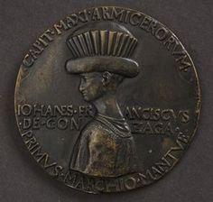 Gianfrancesco I Gonzaga (1395-1444) Marquess of Mantua designed ca. 1439; cast 19th century Bronze