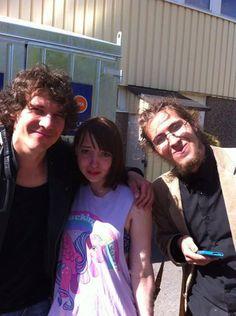 Min dotter möter sin stora idol i Göteborg sommaren 2013.
