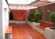 Terrace Design, Backyard Garden Design, Backyard Patio, Porch And Terrace, Terrace Garden, Home Building Design, Home Room Design, Door Gate Design, Outdoor Living Rooms