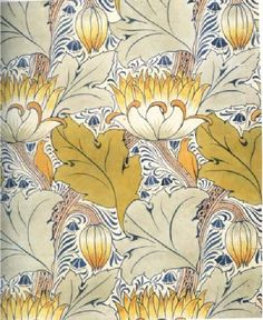 Charles Voysey (1900) - Wallpaper design