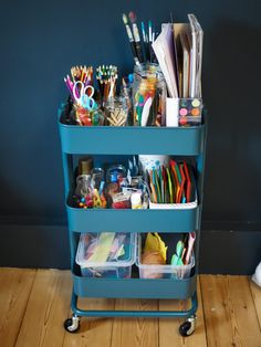 Wonderful Cost-Free Art wagon - IKEA Hack - franzisaidwhat Concepts An Ikea kids' room continues to amaze the kids, because they're offered much more than just kid