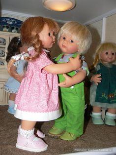 Йоханнес / Коллекционные куклы Rosemarie Anna Muller / Бэйбики. Куклы фото. Одежда для кукол