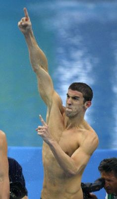 Michael Phelps  USA *London Summer Olympics 2012* Most Decorated Olympian!