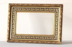 French Vintage Frame. Carved Picture Frame. by LePasseRecompose