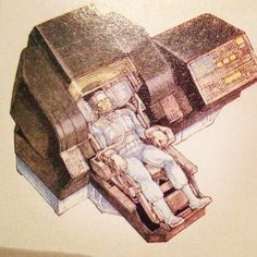 Total Recall design by Ron Cobb | Flickr - Photo Sharing!
