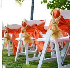 Beach wedding aisle.