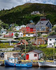 Petty Harbour-Maddox Cove Town in Newfoundland and Labrador, Canada .visited this little town today and bought fresh fish! Newfoundland Canada, Newfoundland And Labrador, Canadian Travel, Canadian Rockies, Canadian Forest, O Canada, Alberta Canada, Canada Trip, Alaska