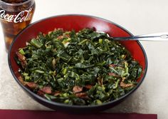 Southern Style Collard Greens by Chef G. Garvin | chefgarvin.com