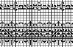 """Medieval Egyptian """"Blackwork"""" Embroidery: discussion of technique and motifs"""