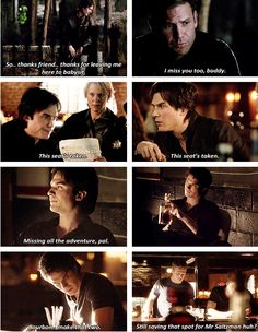 I will never get over it. I miss ALARIC