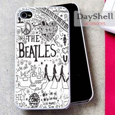the beatles quotes lyric for iPhone 4, iPhone 4s, iPhone 5 /5s/5c, Samsung Galaxy S3, Samsung Galaxy S4 Case