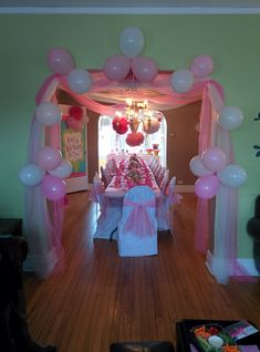 I only have boys, but who knows, maybe someday I will be able to do this awesome princess birthday party.
