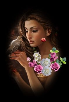 Be Inspired you are beautiful. Beautiful Gif, Beautiful Flowers, Beautiful Women, Glitter Pictures, Amazing Gifs, Graphic Design Software, Logo Design, Photo Composition, Gif Pictures