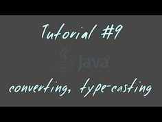 Tutorial #9 - Datentypen-Konventierung, Type-Casting - JAVA Anfänger