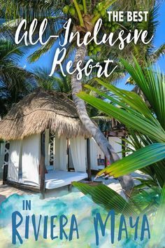 The Best All-Inclusive Resort in Riviera Maya: El Dorado Casitas Royale Contact:877.439.8747 for information!