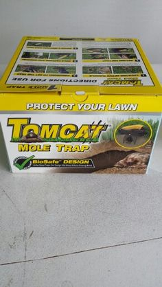 Best mole trap! They have come way down in price you can get them for $23 on eBay now
