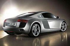 Audi R8 4.2 FSI Quattro R in silver