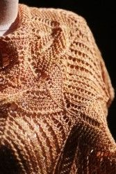 Lace Shawl Pattern | Designs by Romi Caliz Shawl Knitting Pattern