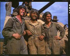Sherman Tank Crew