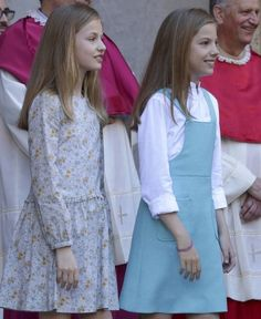 Spanish Royal Family attended the traditional Easter Mass on 1st April at Palma de Marllorca .