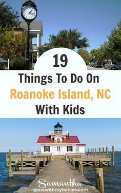 Roanoke Island is home to the Roanoke marshes lighthouse, natural beauty, and the cute little walkable town of Manteo, NC. Here are  19 of the best things to do on the Outer Banks island of Roanoke! #roanoke #roanokeisland