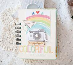 Colorful Dreams Mini Album via Gossamer Blue #minialbum